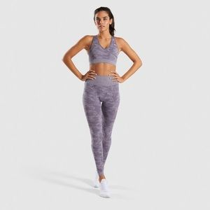 Lavender Grey Gymshark Leggings
